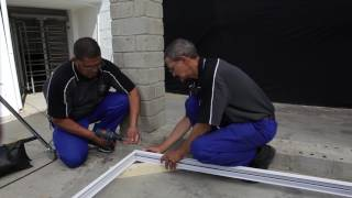 Swartland Kenzo Aluminium Sliding Door Installation