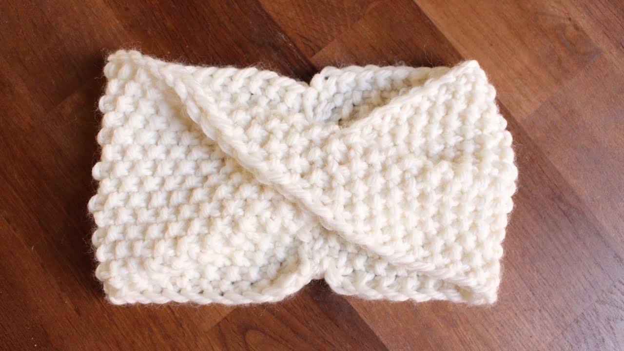 5040afef1923 Tuto   Se tricoter un headband ✨ Marion Blush - YouTube