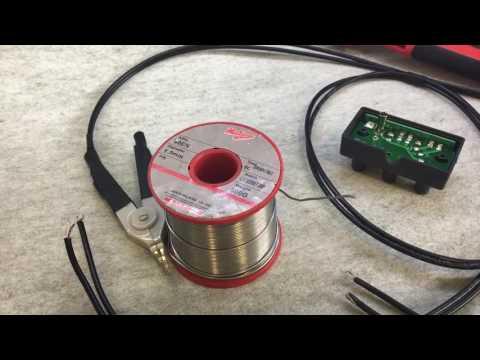 #91 DE 5000 LCR Meter 4 Wire Kelvin Test Lead Modification