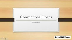 Using a Conventional Mortgage to purchase rental property