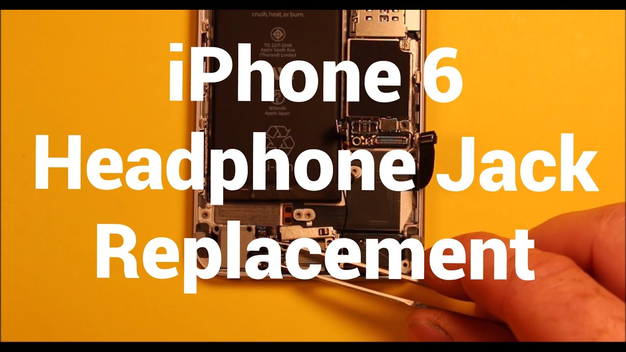 iphone 6 repair iphone 6 headphone audio replacement how to change 11394