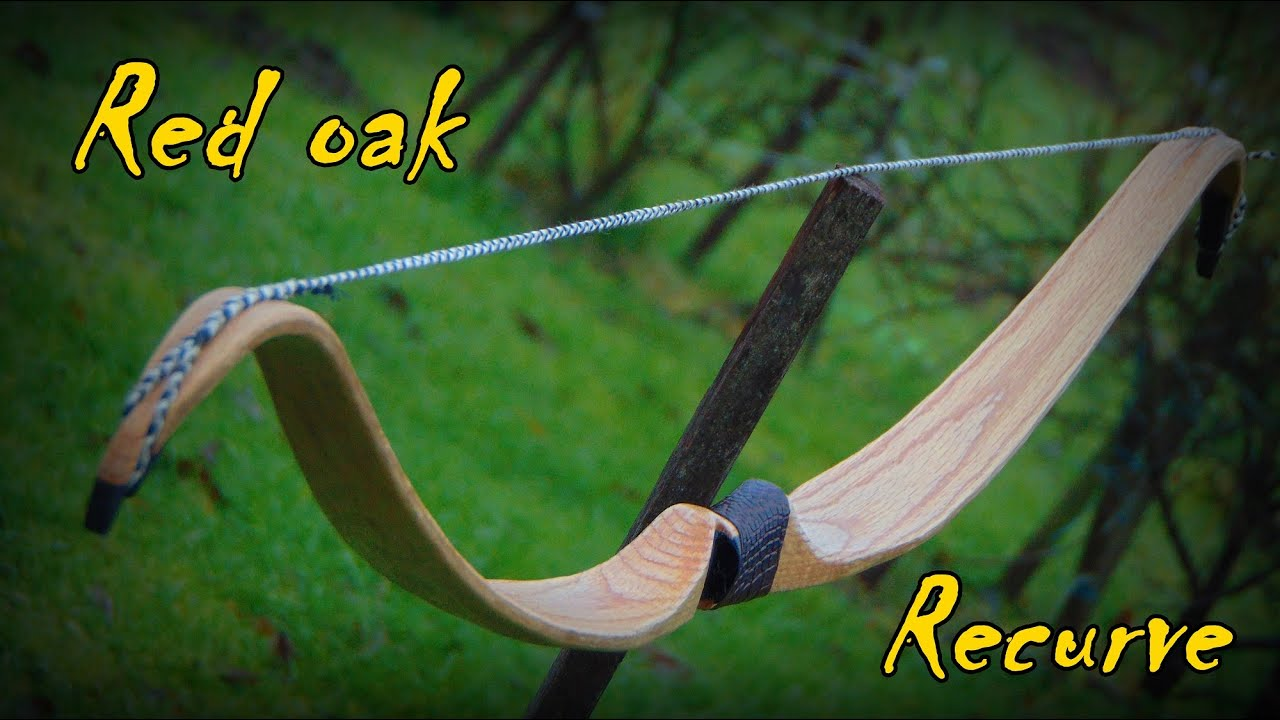 Making a Red Oak Recurve Bow