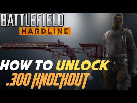 The quick and easy way to unlock the Battlefield Hardline .300 KNOCKOUT