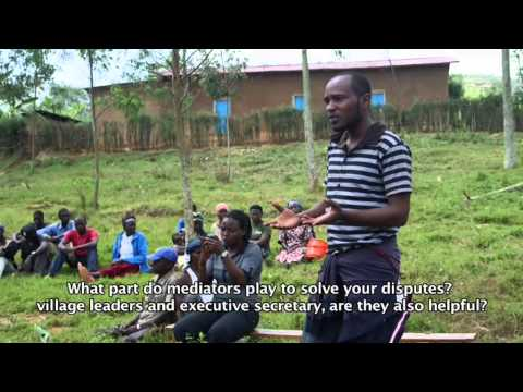 THE ROLE OF ABUNZI IN RWANDA'S JUSTICE SYSTEM