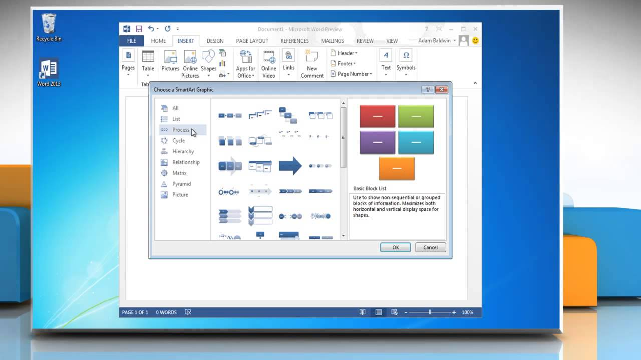 How to create a flow chart with pictures in microsoft word 2013 how to create a flow chart with pictures in microsoft word 2013 geenschuldenfo Gallery