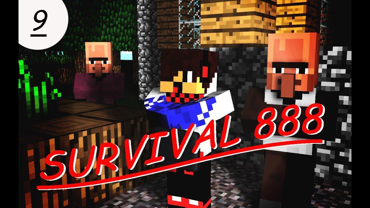 Minecraft Survival 888  #9: SEQUESTRANDO VILLAGERS! (Preparativos para a casa, parte 3)