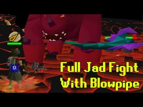 [OSRS] Full Jad Fight with Toxic Blowpipe