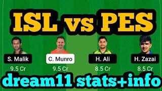 ISL vs PES Dream11 Prediction|ISL vs PES Dream11|ISL vs PES Dream11 Team|