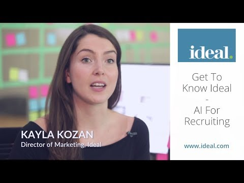 Get To Know Ideal: AI For Recruiting