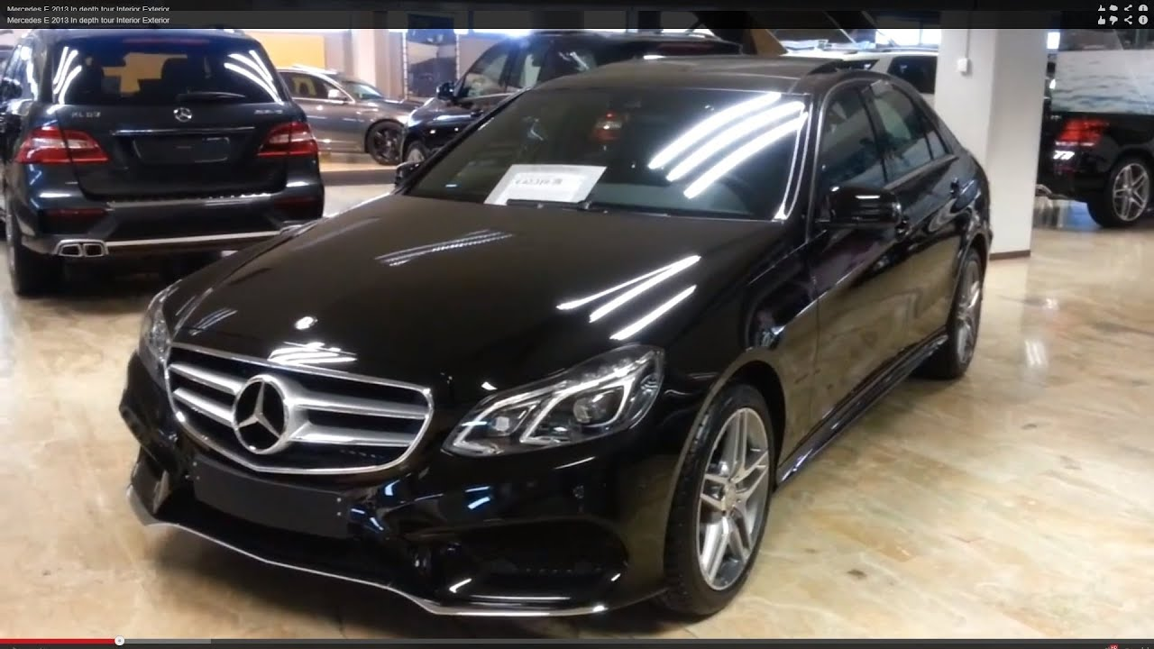 mercedes benz e class 2015 in depth review interior exterior youtube. Black Bedroom Furniture Sets. Home Design Ideas