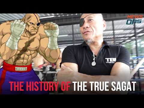 Street fighter SAGAT from Thailand by NewsOps