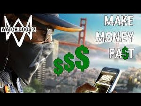 watch dogs 2 how to make money fast money in watch dogs 2 money bag