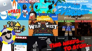 Roblox Camping is getting old... It's time to stop...