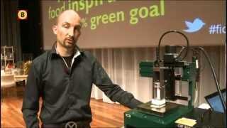 3D Food Printer Maakt Kookboeken Overbodig