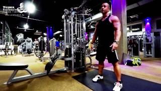 Intenzív hátizom edzés (oktatófilm)