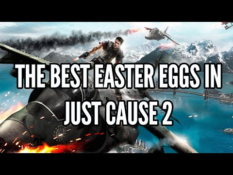 The Best Easter Eggs In Just Cause 2