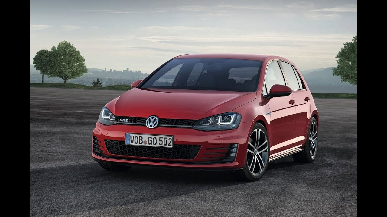 vw golf 7 gtd vs vw polo gti 0 vmax youtube. Black Bedroom Furniture Sets. Home Design Ideas