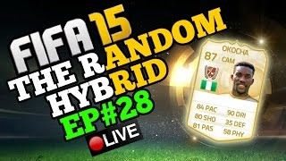 LEGEND JAY JAY OKOCHA! The Random Hybrid - Episode 28! 3 LEGEND CARDS!!