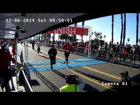 2014 Santa Monica Christmas Run