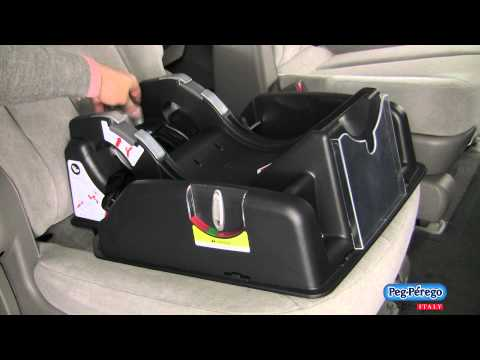 2011 Car Seat - Peg Perego Primo Viaggio SIP 30/30 -  How To Install Using LATCH System Base