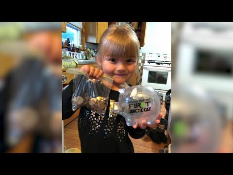 5-Year-Old Girl Smashes Piggy Bank To Help Buy Milk for Clas