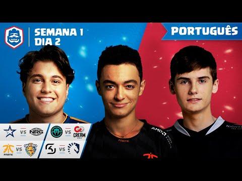 Clash Royale League: CRL West Fall 2019 | Semana 1 Dia 2! (Português)
