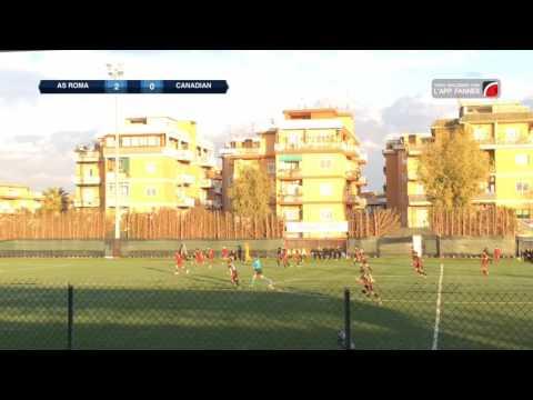 III Memorial Halima Haider - 1^ Gir. D - AS Roma vs Canadian Academy of Football