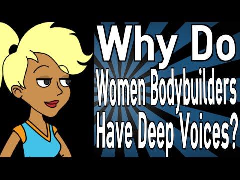 Deep voice testosterone