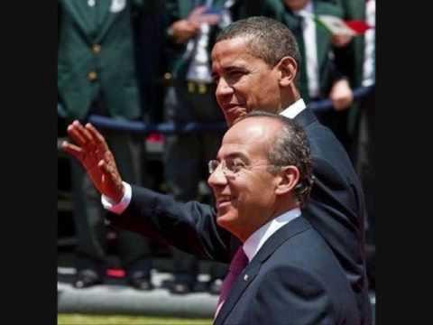 U.S. President Barack Obama in Mexico City.