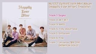 전곡 듣기 Album Nu Est 뉴이스트 6th Mini Album Happily Ever After MP3