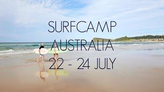 Surf Camp Australia | 22 - 24 July 2016