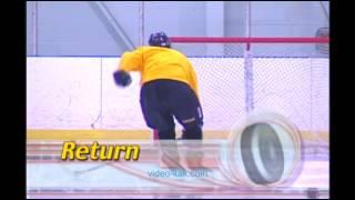 Видео как профессионально кататься на коньках. Урок 3. Движение назад(, 2016-01-10T15:41:42.000Z)