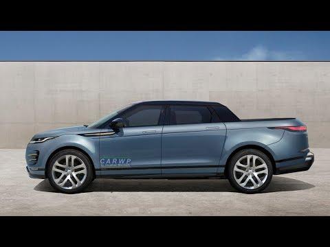 RENDER 2020 Land Rover Range Rover Evoque Pickup