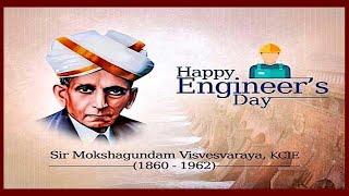Happy Engineer's day WhatsApp status-wishes -Proud to be an engineer-Engineers day WhatsApp status