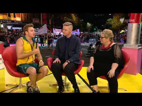 Matthew Mitcham Interview on Mardi Gras 2015