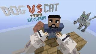 Minecraft Xbox - Dog Vs Cat - Team SkyWars