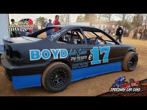 #E17 Emily O'Kelley - Buzz - 3-23-19 North Alabama Speedway - In Car Camera