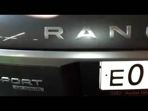 Установка акустики и сабвуфера на Range Rover Sport  в Авто Ателье АврорА Приморский район Спб