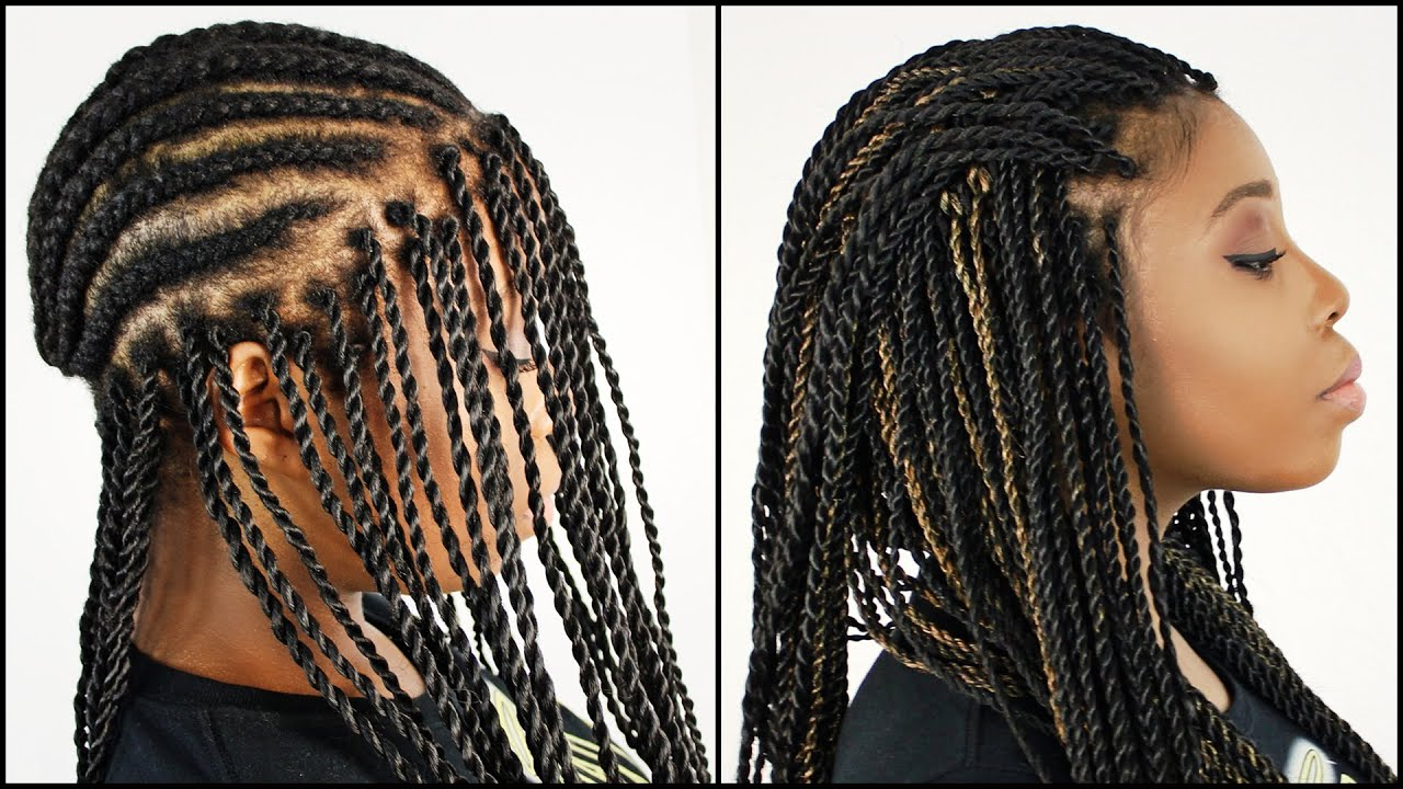 Senegalese Twist Crochet Hair Styles : ... with Poetic Justice Braids. on senegalese twists hairstyles crochet