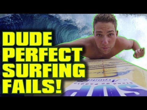 Thumbnail: Dude Perfect Surfing FAILS!
