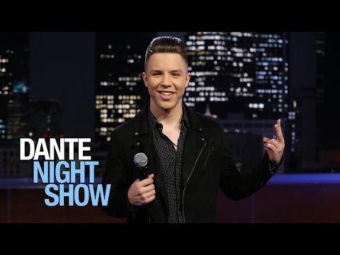 """Jonatán Sánchez 'Príncipe de la canción regional mexicana' canta """"Transparente"""" – Dante Night Show"""