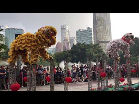 Lion Dance @ Suria KLCC CNY2018
