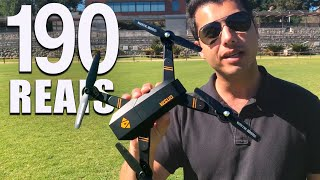 VISUO: melhor drone barato!