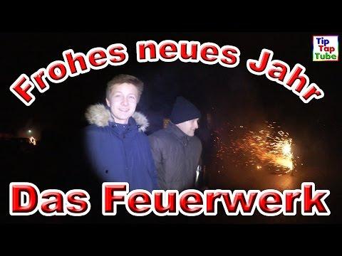 Das Feuerwerk | Frohes neues Jahr | Unser Silvester Teil 4 Vlog TipTapTube