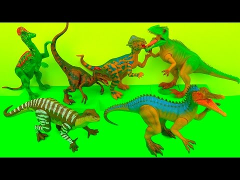 Learn Dinosaurs - Movable Dinosaurs - Fun Educational Toys - Learn in English