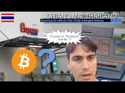 Chiang Mai ,TH (Searching For A Bitcoin ATM ,Pantip And Bangkok Bank) Pt1.