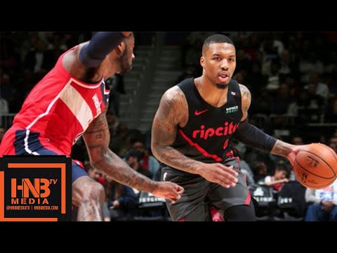 Portland Trail Blazers vs Washington Wizards Full Game Highlights | 11.18.2018, NBA Season