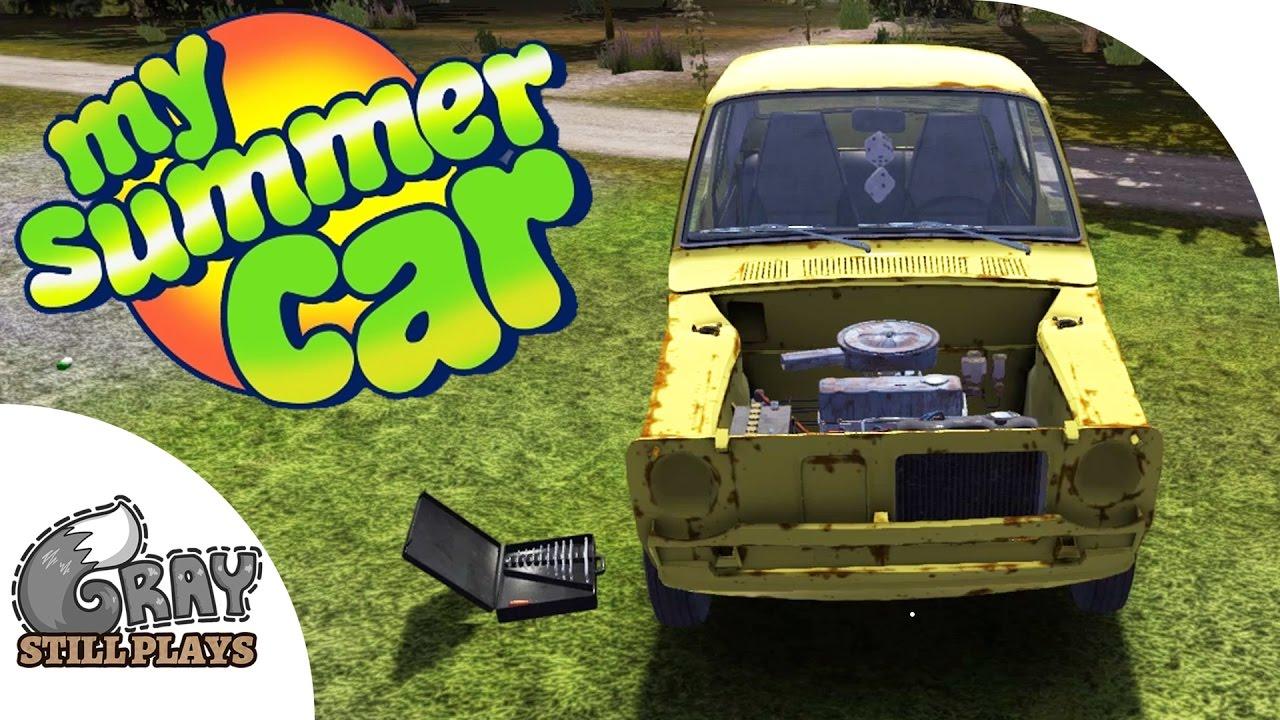 My Summer Car - Wheel Alignment, Engine Tuning, Ordering Custom Parts -  Gameplay Highlights Ep 9