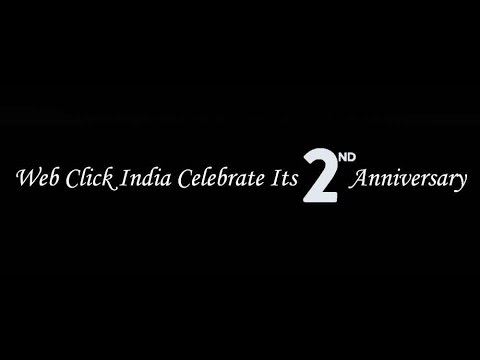 Web Click India - 2nd Anniversary Celebration