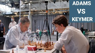 Michael Adams vs Vincent Keymer | First Chess Moves